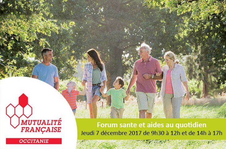 Forum santé et aides au quotidien
