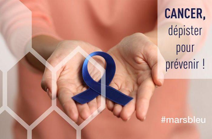 Mars Bleu 2018 : Mois de la promotion du dépistage du cancer colorectal
